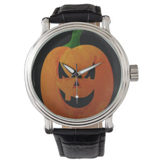 Halloween Pumpkin Watch