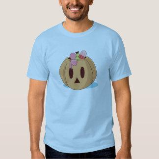 Halloween pumpkin with candy tee shirt