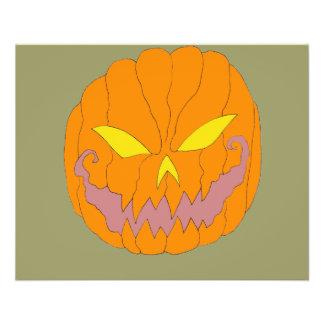 Halloween Pumpkins 11.5 Cm X 14 Cm Flyer