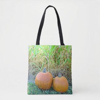 Halloween Pumpkins  Autumn Bag