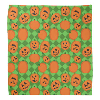 Halloween Pumpkins Bandana