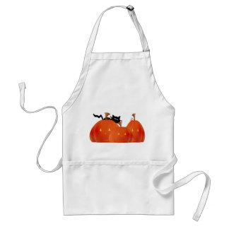 Halloween Pumpkins/Black Cat Apron