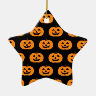 Halloween Pumpkins Christmas Ornament