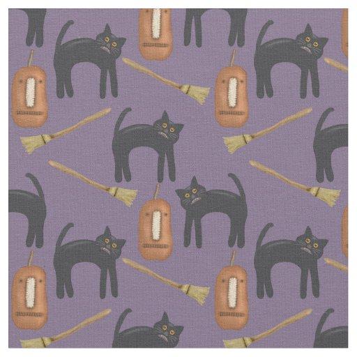 """Halloween Pumpkins, Cotton (56"""" width) Fabric"""