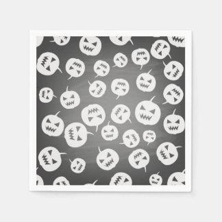 Halloween pumpkins disposable serviette