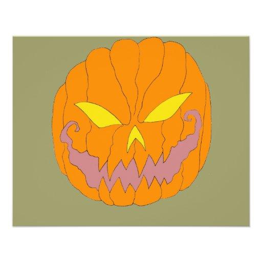 Halloween Pumpkins Full Color Flyer