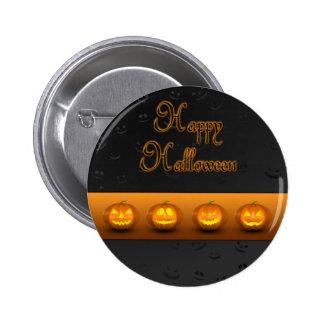 Halloween Pumpkins Jack-o-Lantern - Button