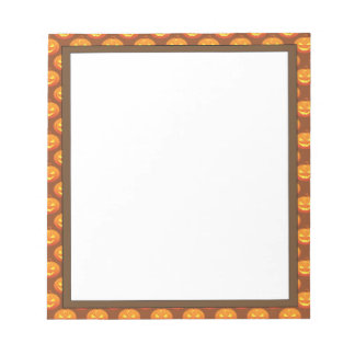 "Halloween Pumpkins Notepad 5.5"" x 6"" - 40 Pages"