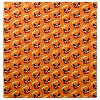Halloween Pumpkins Orange Napkin