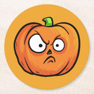 Halloween Pumpkins paper coasters 2