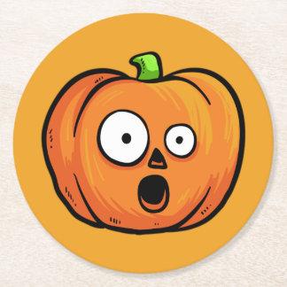 Halloween Pumpkins paper coasters 5