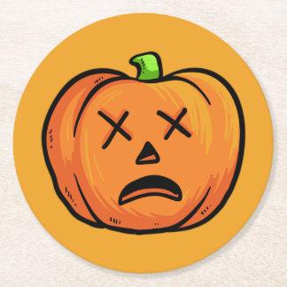 Halloween Pumpkins paper coasters 9