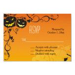 Halloween Pumpkins RSVP Card 9 Cm X 13 Cm Invitation Card