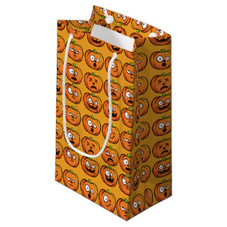 Halloween Pumpkins small gift bag