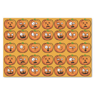 Halloween Pumpkins tissue paper