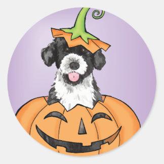Halloween PWD Round Sticker