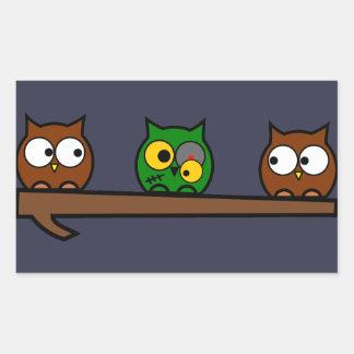 Halloween Quirky Owl Sticker