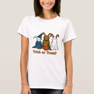 Halloween Rabbits Trick or Treating T-Shirt