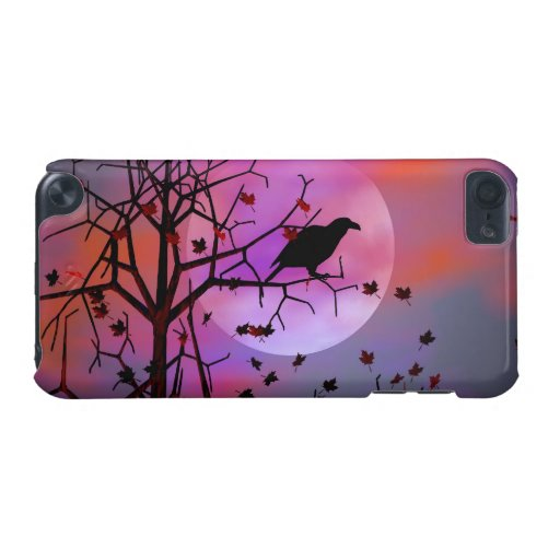 Halloween Raven Night iPod Touch (5th Generation) Case