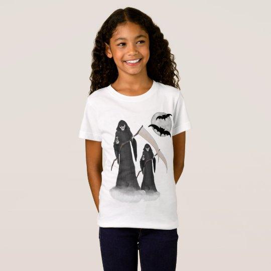 Halloween Reaper Girls T-shirt