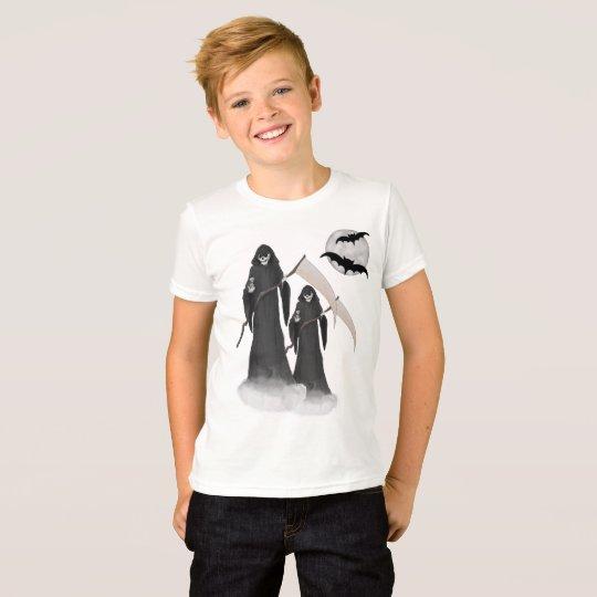 Halloween Reaper Kids T-shirt