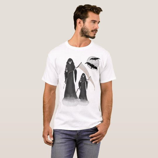 Halloween Reaper Men's Basic T-Shirt