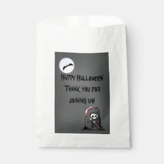 Halloween Reaper Moon Bat Tombstone Favour Bags