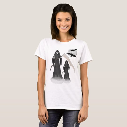 Halloween Reaper  Women's Basic T-Shirt