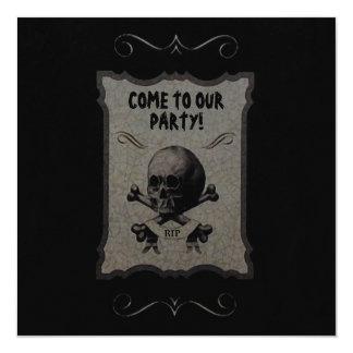 Halloween Remains ~ Invitations