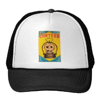 Halloween Retro Vintage Kitsch 'Skull Lantern' Trucker Hat
