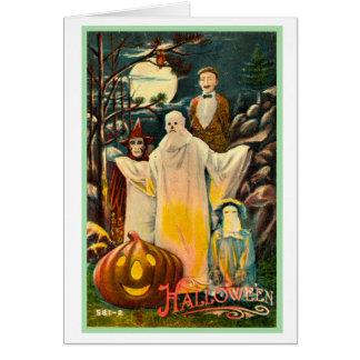 Halloween Retro Vintage Kitsch Spooky Card