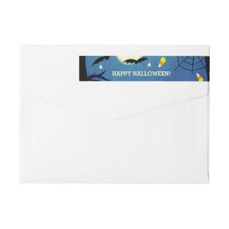 Halloween Return Address Labels Wraparound Return Address Label