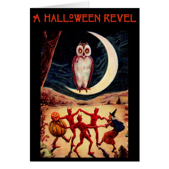 Halloween Revel Invitation