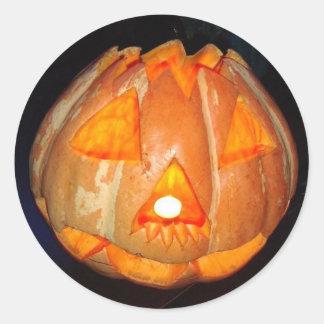 Halloween Round Sticker
