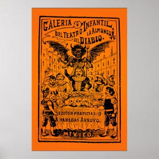 HALLOWEEN SALE! La Almoned del Diablo (Posada) Poster