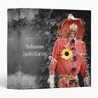 Halloween Scarecrow Binder