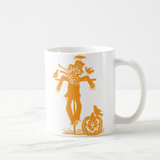 Halloween Scarecrow Silhouette Classic Mug