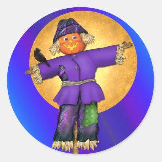 Halloween Scarecrow Sticker