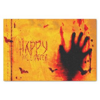 Halloween Scary Handprint Tissue Paper
