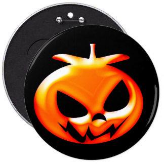 Halloween Scary Pumpkin Button