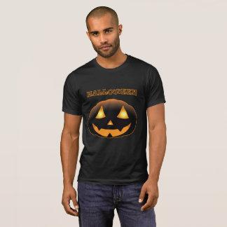 Halloween Scary Pumpkin Face T-Shirt