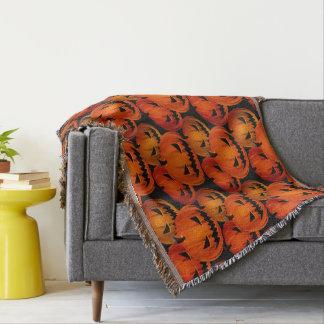 Halloween Scary Pumpkins Blanket