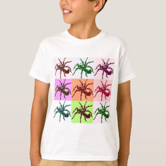 Halloween Scary Tarantula Tiles T-Shirt