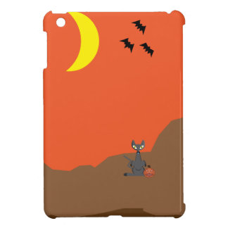 Halloween scene iPad mini cover
