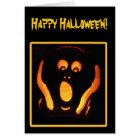 Halloween Scream Card