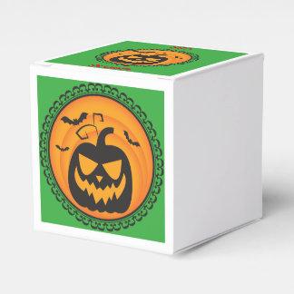 Halloween Silhouettes Evil Pumpkin Gift Box Favour Boxes
