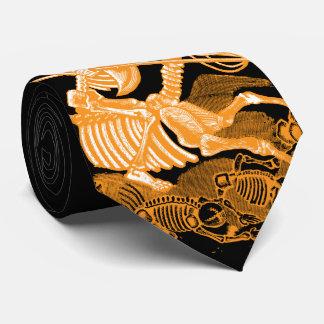 Halloween Skeleton Horseman Necktie