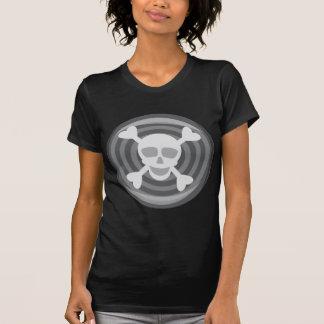Halloween Skull and Bones Tee Shirts