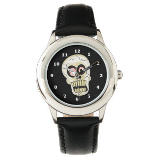 Halloween Skull cartoon kids watch