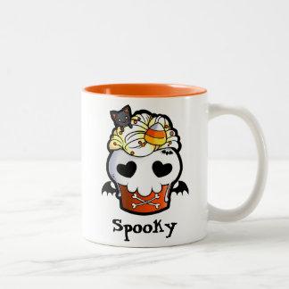 Halloween Skull Cupcake Coffee Mugs